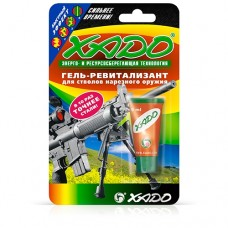 Gel revitalizant for rifle barrels